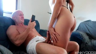 Sexy Athletic Teen seemed so innocent on Casting