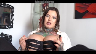 Sexy secretary shows her slutty site to her boss