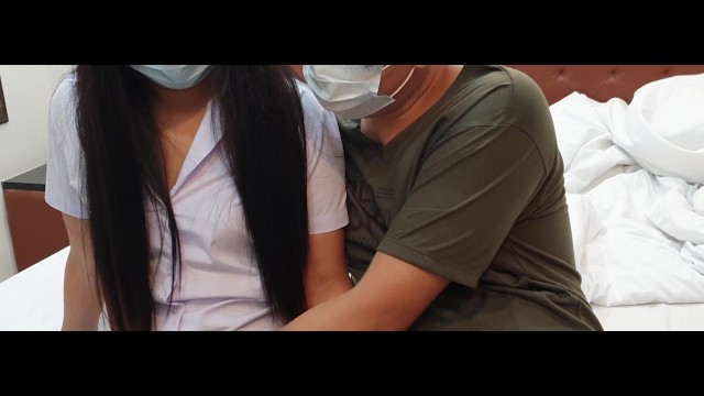 VLOG 4K Thai student walk and having sex with a senior in her room นักศึกษาไทยพารุ่นพี่มาเย็ดถึงห้อง