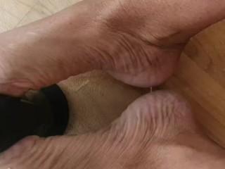 Little footwank tease