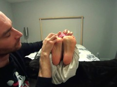 Captured, Wrapped & Tickled! (Mind Blowing Ticklish Soles) 1080p HD PREVIEW