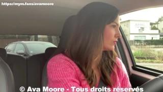 Ava Moore - La COURSE Folle pour une PIPE, je SUCE les 3 premiers à me trouver - PORNO REALITE