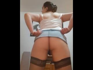 Trans Sissy Undressing
