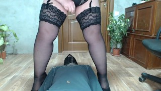 Russian Mistress a gift for a slave
