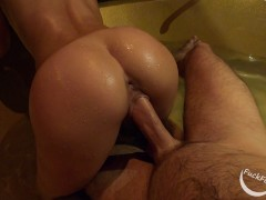 Amateur couple spends the whole night fucking in a jacuzzi (short version) - FuckForeverEver