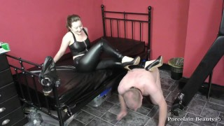 Male Sub Collared At My Heels