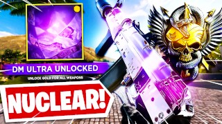 I DROPPED A NUCLEAR TO UNLOCK DM ULTRA in BLACK OPS COLD WAR! (BOCW Unlocking DM Ultra)