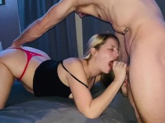 Sloppy Creampie, Lots of Oral, and Squirting Oh My!
