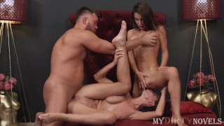 MyDirtyNovels - Two buttholes for one thick penis