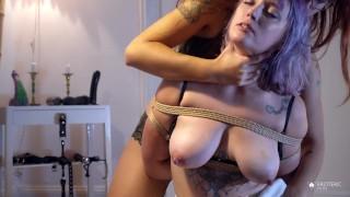 Tinder Tentacle Slut (Part1): Shibari Sex