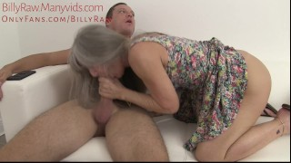 Granny Catches StepGrandson Watching Porn-Leilani Lei