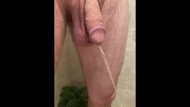 Thick flaccid penis