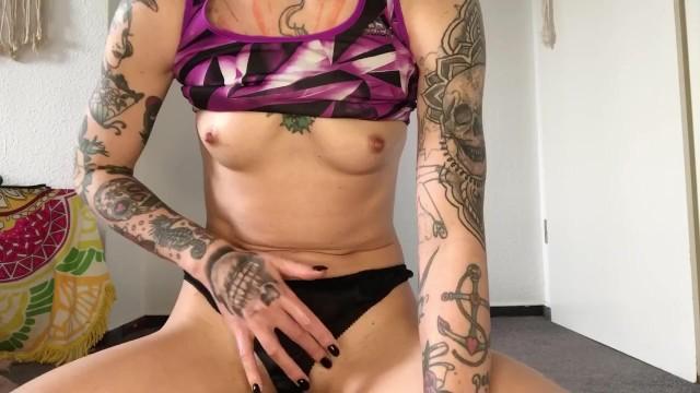 ASMR  Yoga Teacher flirting  Strip  Wet Pussy