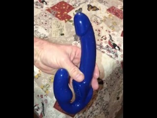Wishing my Revolver II Vibrating Strapless Strap On Dildo would get some use