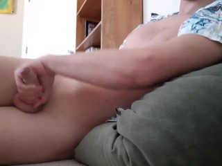Bored and horny jerk off