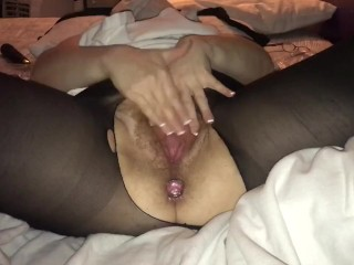 Playing With My Hairy, Creamy, Ginger Pussy Until Its Squirting And Convulsing