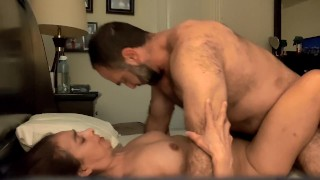 Amazing moaning orgasm for petite MILF