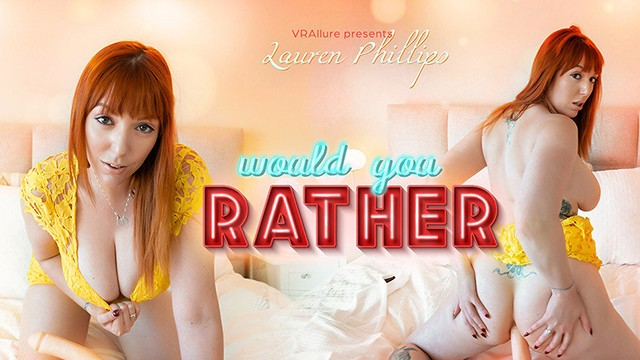 VRALLURE Would You Rather?