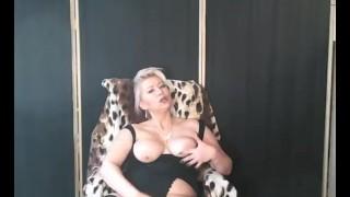 Slutty Mature Blonde Hot Private Show ))