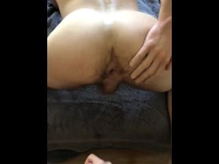 big cock bareback fuck with cum inside