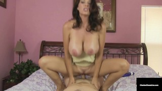 Hubby Gives Wife Charlee Chase A Massage And A Hard Cock!