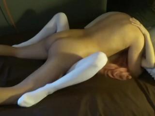 Skinny girl fucked by her boyfriend