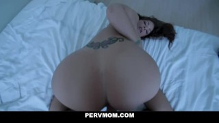 Tied Up Busty Milf Syren De Mer Blows Stepson