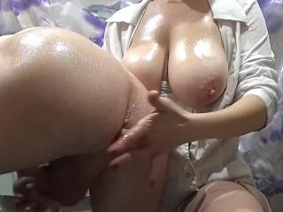Male gspot cum shot femdom big tits Prostate Fisting Porn Videos Fuqqt Com