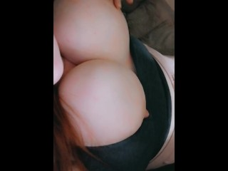 Huge tit tease daddy play with me