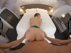 Tonight's Girlfriend - Ivy LeBelle stops by the hotel room of a man in need of a nice big ass in sex