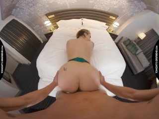 Tonight's Girlfriend – Ivy LeBelle stops by the hotel room of a man in need of a nice big ass in sex