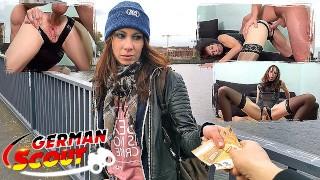 german scout – rough backdoor sex for skinny ginger teen lana at pickup casting in berlin – teen porn