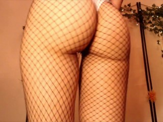 Fishnet And Ass POV