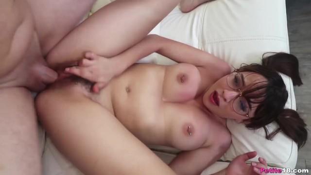 NerdyGirl in Glasses Fucked Hard 18