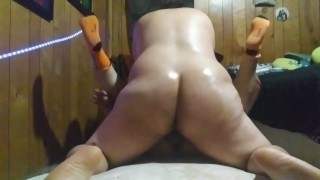 Big booty sweaty Lexis shemale pounds married womens pussy really hard to end the night