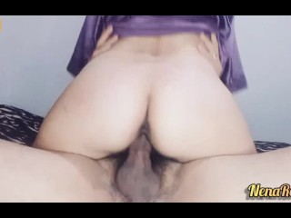 Real wife hot creampie compilation #3
