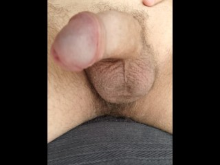 Amateur Guy Playing with cum, after shooting a big load and talking dirty - Homemade