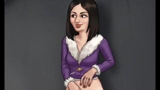 Summertime Saga - Cookie Jar - All Sex Scenes Only - Nadya 3 pt5