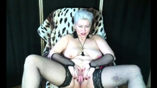 One day in the life of a mature web model, Hot gaping and masturbation, Beauty AimeeParadise!