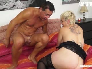ScambistiMaturi – Francesca Nencetti Busty Italian Mature Rough Ass And Pussy Fuck
