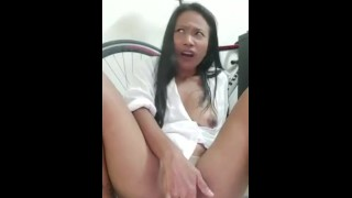 Orgasm of the day #2 - Horny and wet girlMay loves to destroy her pussy with fingers and toys!