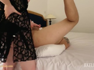 Hot Mistress Tie His Hands Up and Passionately Pegs His Ass
