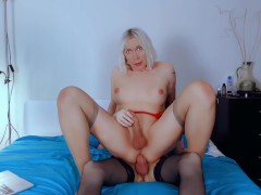 hot transbian sex of russian shemales Eva Lynx and Clara