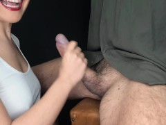 Unstoppable Hj Torment - Post Ejaculation Torment With Dual Cumshot