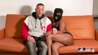 black dominican big ass in her very horny first porn scene fucking big cock victor bloom