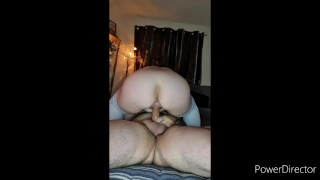 Slutty wife pays maintenance man with her wet pussy