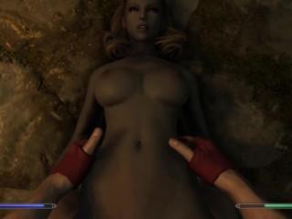 Gabriella Cant get Enough (3D Animated) - Skyrim Porn POV