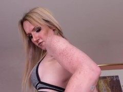 TRANSEROTICA Jerking And Anal Play With TS Kayleigh Coxx