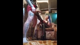Latex High Heels Fetish by Dominatrix KATRIX and Californialatex