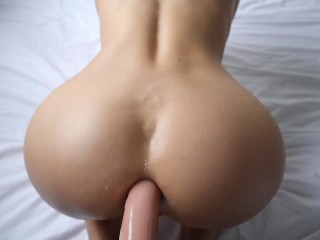 PASSIONATE ASS FUCK WITH A HORNY BABE CUM IN ASS | LaraJuicy